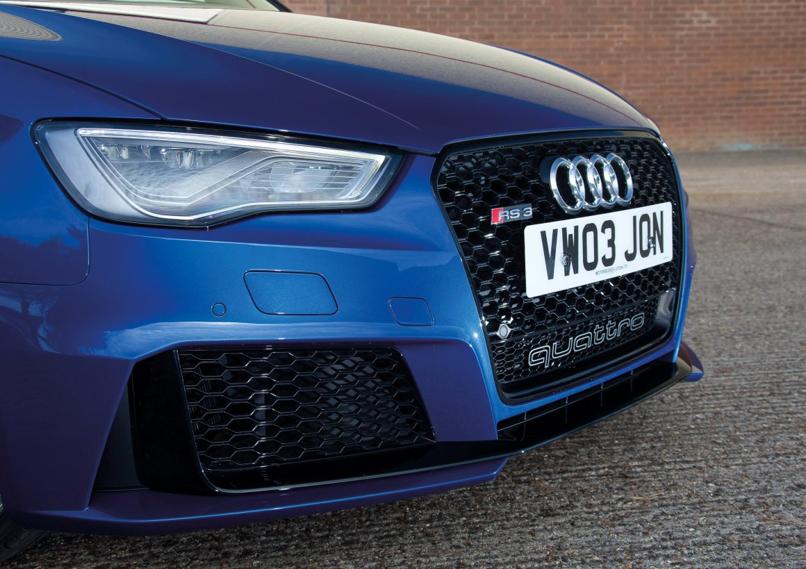 With an explosive, tuned five-pot, is this RS3 the ultimate