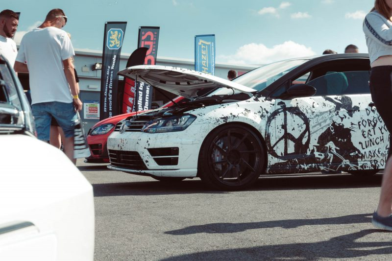 Andy's Revo powered 500HP Golf R fitted with a Performance and Power Pack.