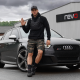 Ryan Taylor and his Audi RS3