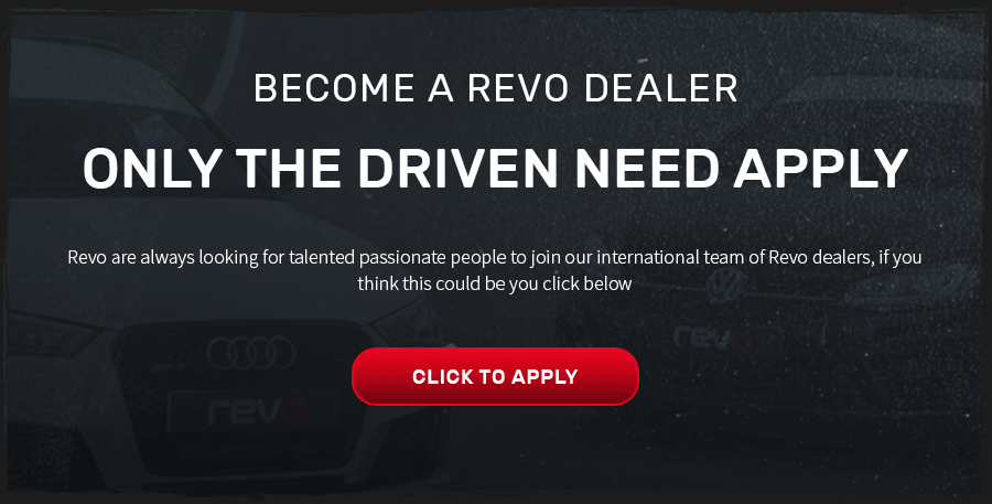 Become a revo dealer, click here